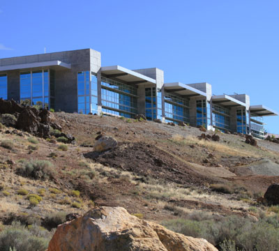 Desert Research Institute Computational Research Visualization Building