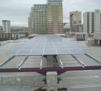 City Of Reno Galleria Parking Garage Pk Electrical Inc