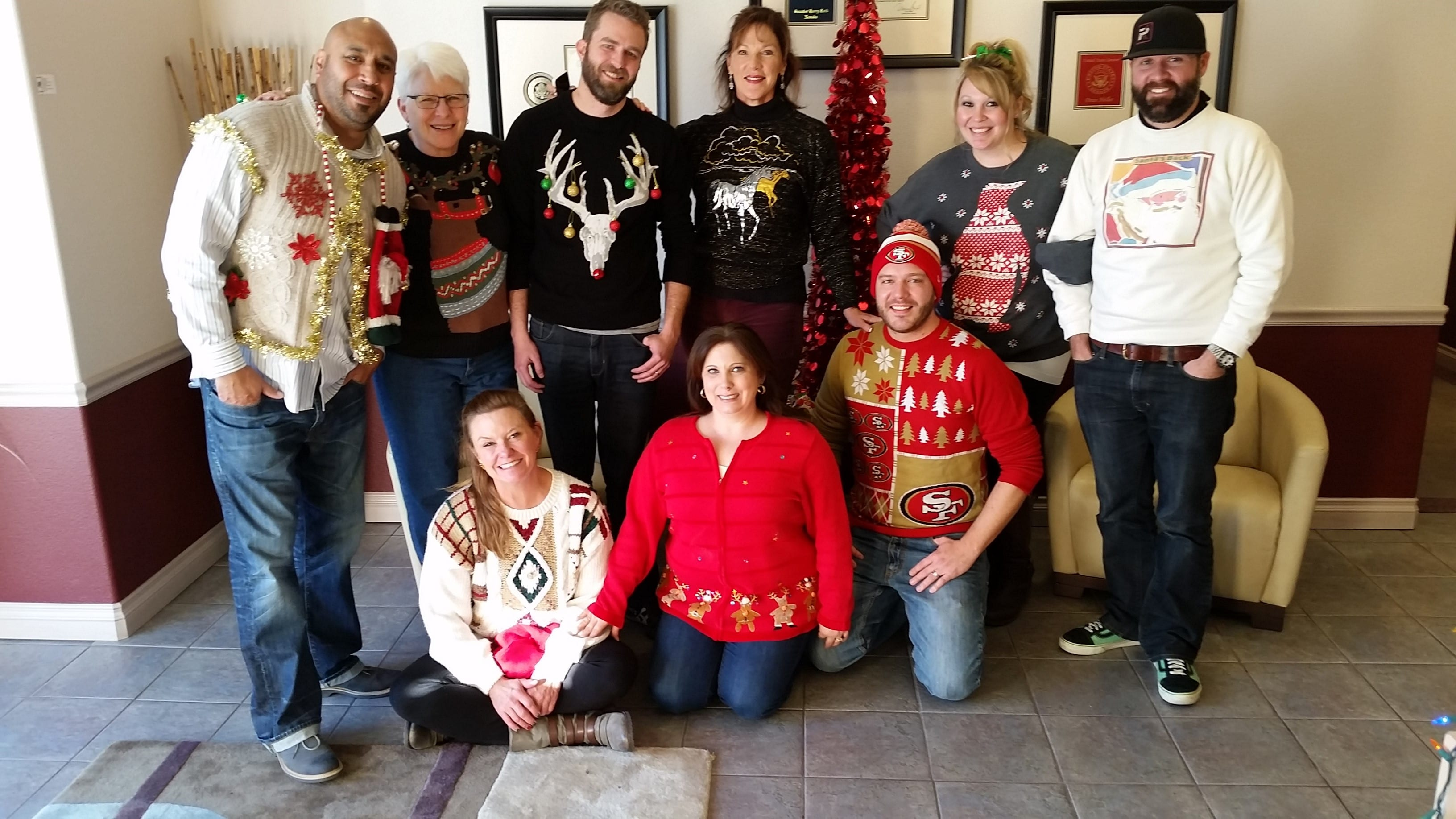 PK Electrical Ugly Christmas Sweater Party