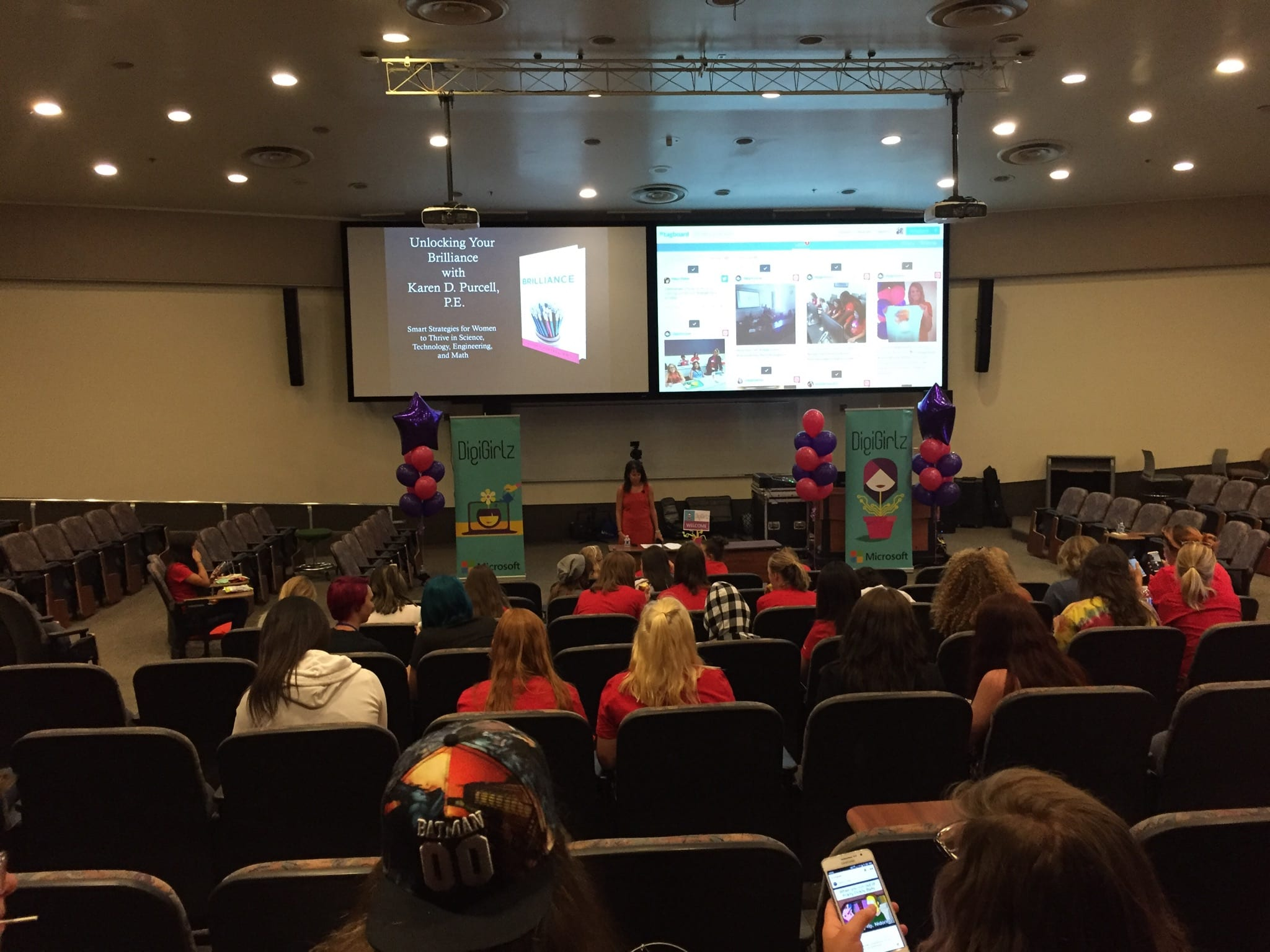 Karen Purcell Speaks at DigiGirlz