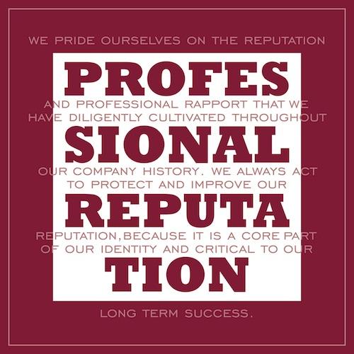 Professional Reputation