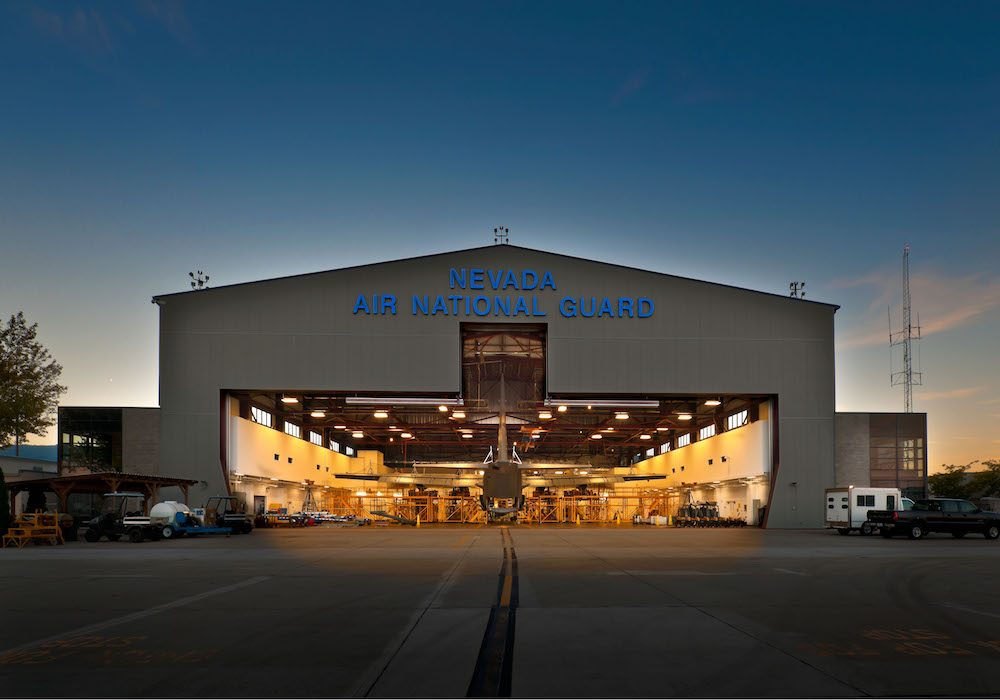 Nevada Air National Guard Hangar