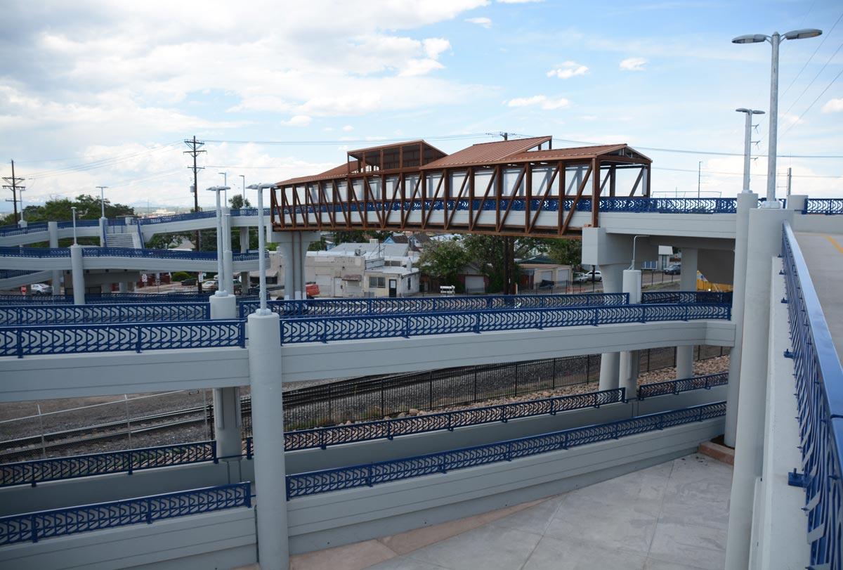 47th Avenue and York Street Pedestrian Bridge | Denver, Colorado