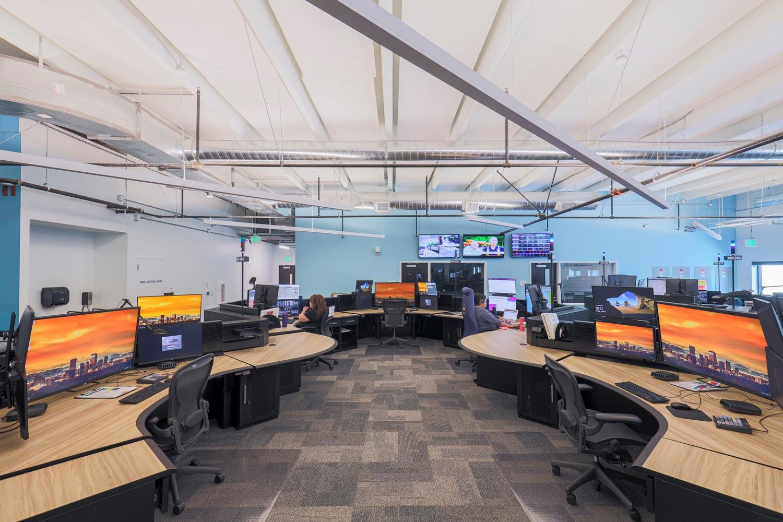 CCD New 911 Communications Center | Denver, Colorado