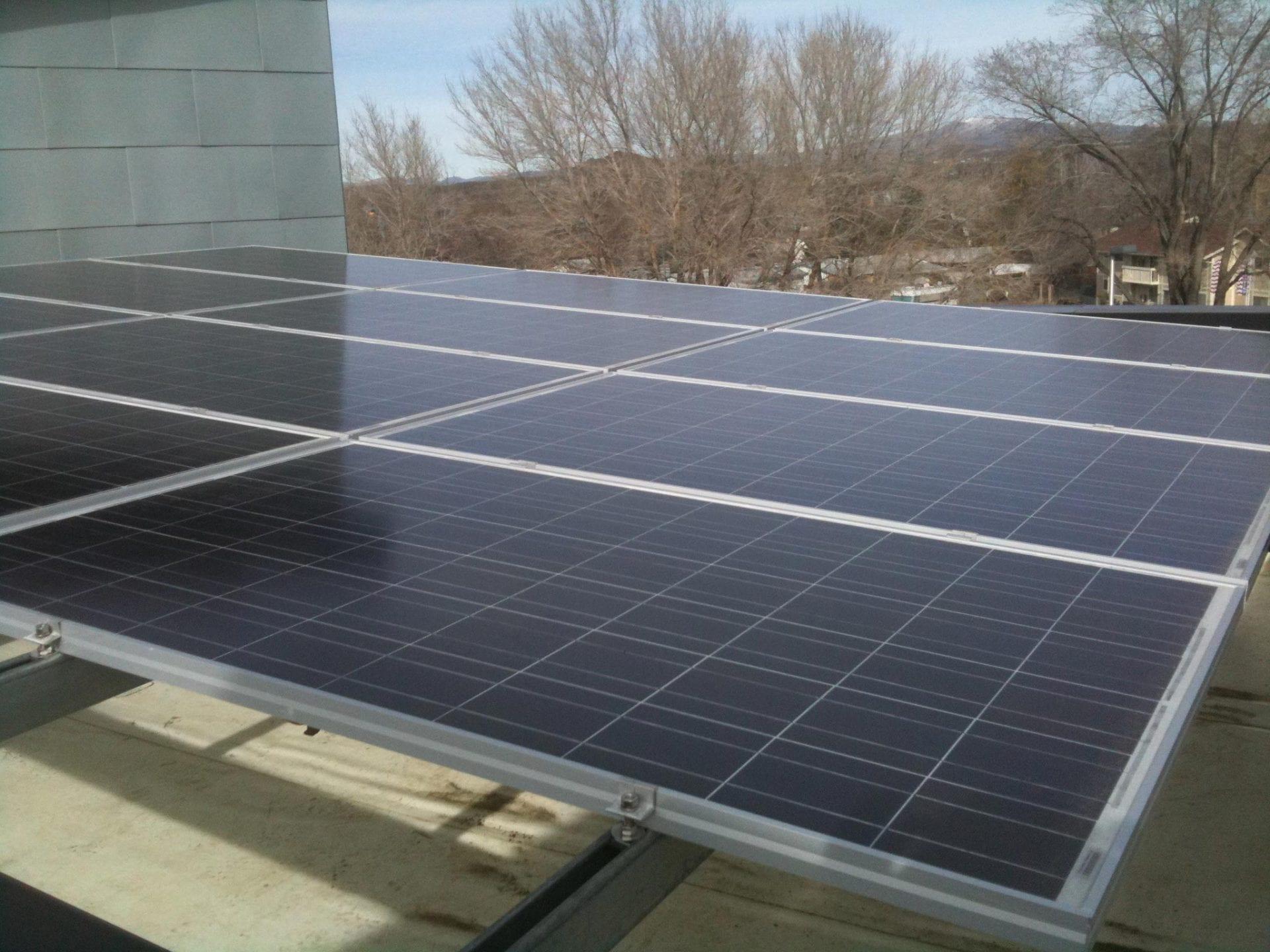 Larry B. Johnson Community Center Photovoltaic System   Sparks, Nevada
