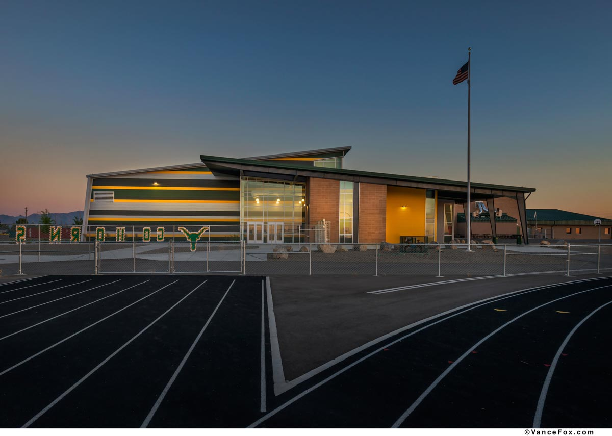 Elanor Lemaire Junior High School Gym | Battle Mountain, Nevada